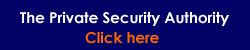 Private Security Authority logo
