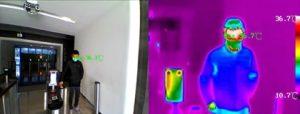Fever scanner camera